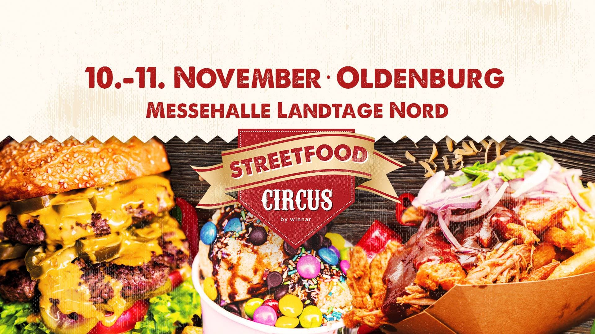 Streetfoodcircus Oldenburg/Wüsting